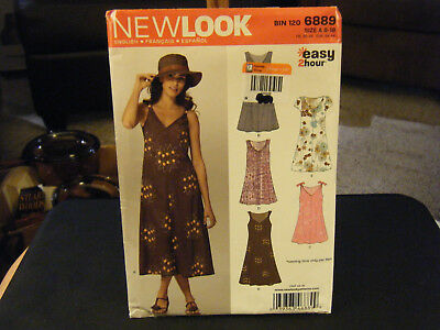 22a0f22e1a04 NEW LOOK 6889 Misses  Vests 8 to 18 Sewing Pattern -  6.15