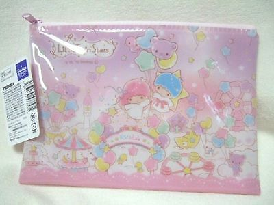 Sanrio Little Twin Stars  flat pouch purse NEW