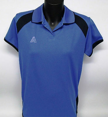 Sporte Leisure Lawn Bowls Aust Polo Shirt Blue/Navy Tone/Tone Logo 8 and 10 ONLY