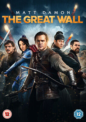 The Great Wall DVD (2017) Matt Damon, Zhang (DIR) cert 12 FREE Shipping, Save £s