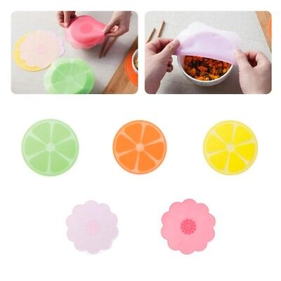 Cute Lid Silicone Plastic Wrap Cover Microwave Oven Refrigerator Fresh Bowl Seal