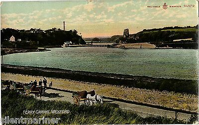 Ferry Carrig, Wexford, old coloured postcard, unposted