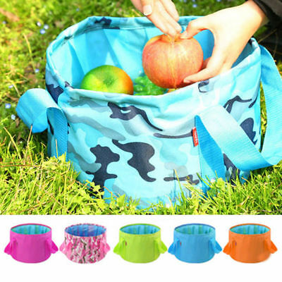 15L Portable Bucket Folding Basin Traveling Wash Fishing Outdoor Hotel Cars Tool