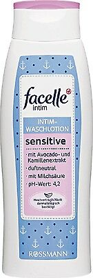 Rossmann Facelle Feminine Hygiene Wash With Camomile Avocado Lactic Acid 300ml