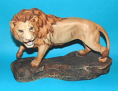 Beswick ornament  figurine ' Lion on  a rock ' #2554A  by G.Tongue 1st Quality