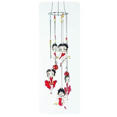 Betty Boop Red Dress Metal Wind Chimes-New