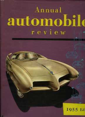 Annual Automobile Review 1954/55 - Automobile Year Number 2