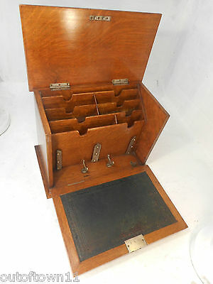 Antique Golden Oak Stationery Cabinet ,  ref2799