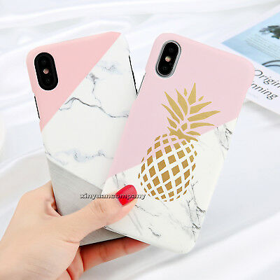 iPhone 8 X Plus 6s Ultra Thin Pattern Shockproof Case Cover Hard Back For Apple