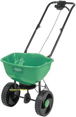 Salt Shaker Spreader, Seed Spreading Trolley, Fertilizer Spreader 15L