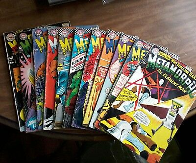 "Lot Of 11 ""metamorpho""  The Element Man 1960's"