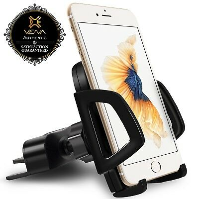 Universal Rotating CD Slot Car Mount GPS Phone Holder for Galaxy S9 iPhone X 8