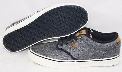 NEW Mens VANS Atwood Deluxe MTE Navy Brown Casual Off The Wall Sneakers  Shoes e51e044d4a