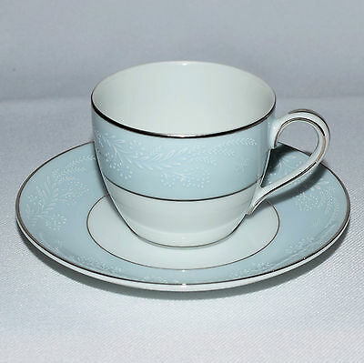 * Noritake LAUREATE Demitasse Coffee Cup & Saucer  (2 Available )