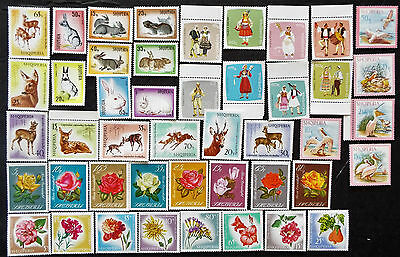 Albania Stamps Complete Mnh Sets 1967 $70 Value