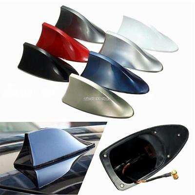 New ABS Plastic Roof Style Shark Fin Antenna Radio Signal Aerials For N98B