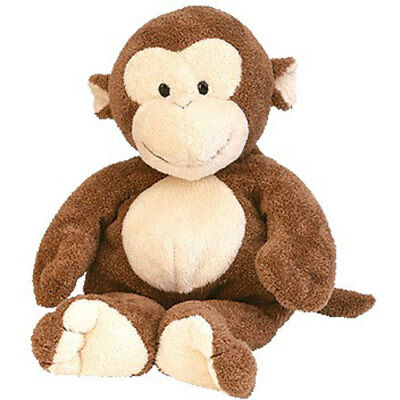 TY Pluffies - DANGLES the Monkey (10 inch) - MWMTs Stuffed Animal Toy