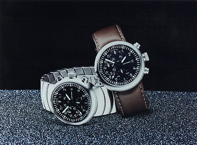 Audi 'Chronograph TT' Watch Large Format Press Photograph - 2001 - Audi Design
