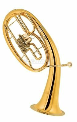 Cerveny CTH721-3PX in B Tenorhorn - Goldmessing lackiert