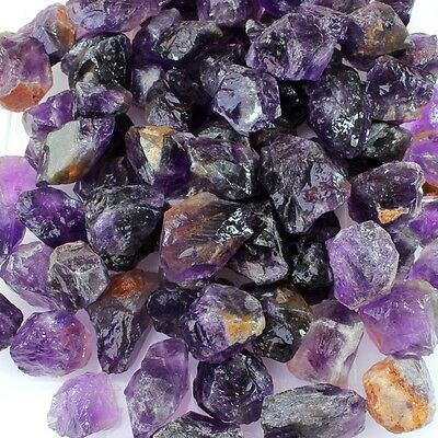2000 Carat Wholesale Lot Natural Earth Mined African Amethyst Gemstone Rough