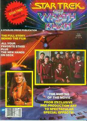 Star Trek II: Wrath of Khan Official Movie Magazine (USA, 1982)