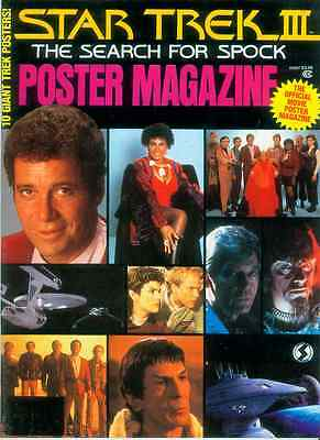 Star Trek III: Search For Spock Official Poster Magazine (USA, 1984)