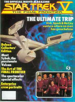 Star Trek V: The Final Frontier Official Movie Magazine (USA, 1989)