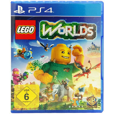 Sony Playstation PS4 LEGO Worlds Videospiel NEU OVP dt. Version USK6