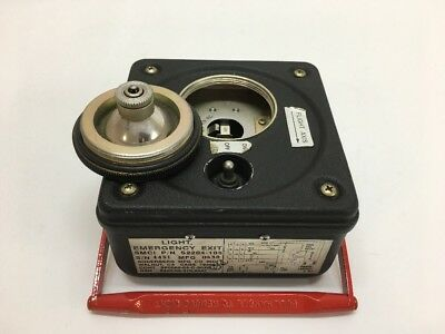 Soderberg Mfg. Emergency Exit Light S2204-105	Military Aircraft