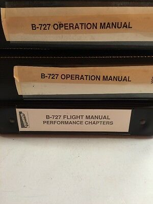 B-727 Original  Operations Manual Federal Express-3 volumes
