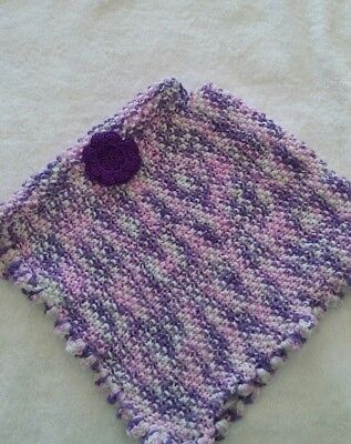 Hand Knitted Toddler Poncho