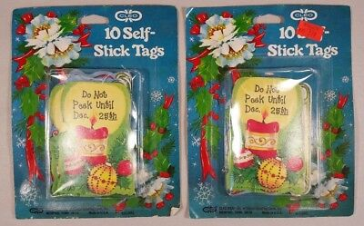 19 Vintage 70's Cleo Christmas Gift Tags