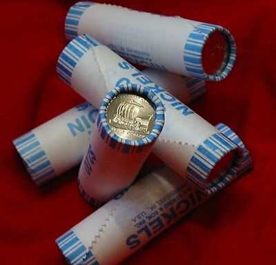 All 5 D Mint Gem Bu Orig Bank Wrapped Rolls Buffalo Peace Keelboat Ocean 2006-D!