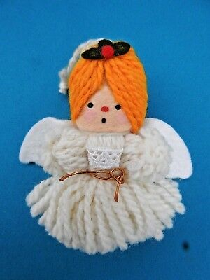 Hallmark Ornament 1973 Yarn Angel Ornament