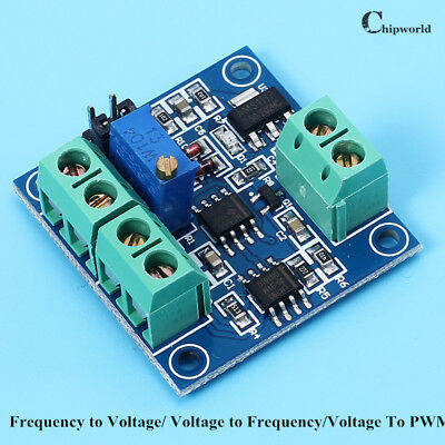 Frequency to Voltage/ Voltage to Frequency/Voltage To PWM Converter Module Board