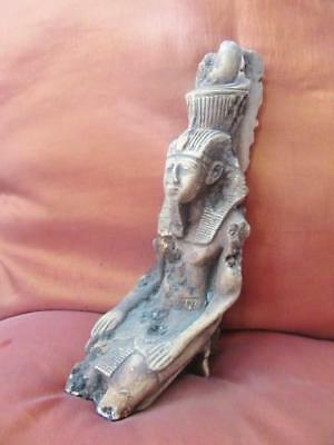 Very Unique Antique Egyptian Statue of Ancient King Ramses II Pharaoh Collection