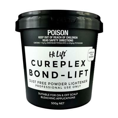"Hi Lift Cureplex Bond - Lift Bleach 500g Hi-Lift CURE PLEX ""FREE POSTAGE"""