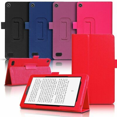For Amazon Kindle Fire 7 HD8 2018 2017 2015 Shockproof Leather Case Cover Stand