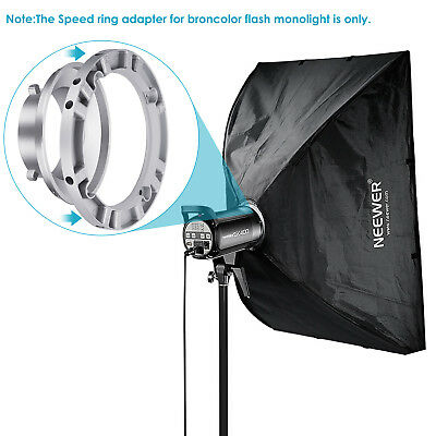 Neewer Softbox Speed Ring Adapter for Bowens Monolight Flash and Soft Box
