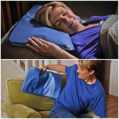 New Therapy Insert Sleeping Aid Pad Mat Cooling Gel Pillow Top Relief Muscle