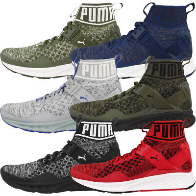Puma Ignite evoKNIT Schuhe Herren High Top Sneaker Laufschuhe 189697 Drift Cat