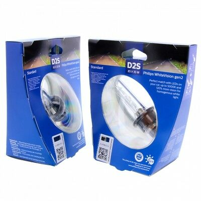 2x D2S PHILIPS Ultimate White LED effect 85122WHV C1 85V Lampe Set