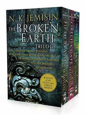 N. K. Jemisin Broken Earth Trilogy Collection 3 Books Set The Fifth Season NEW