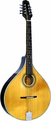 Ashbury AM-325 OCTAVE MANDOLA, flat solid spruce top, solid maple body