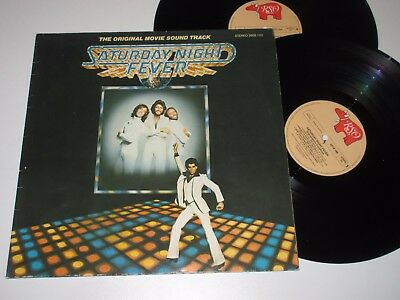 2 LP/SOUNDTRACK/SATURDAY NIGHT FEVER/BEE GEES/RSO 26581 FOC made in Austria