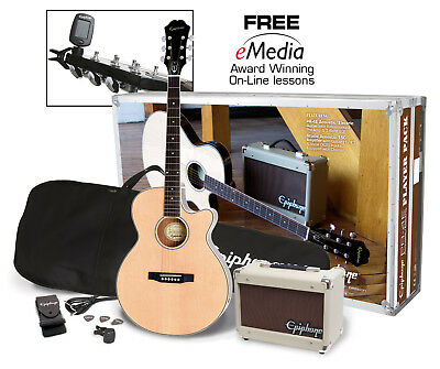 Epiphone PR-4E Acoustic Electric Playerpack