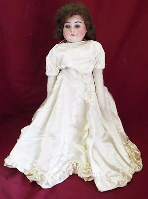 "Old Antique 18"" ARMAND MARSEILLE Germany #3200 DOLL Bisque Head Cloth Body"
