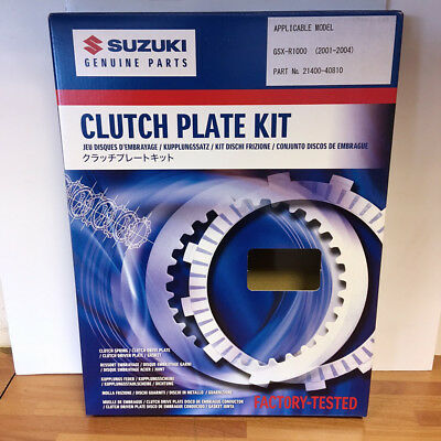 Suzuki Genuine Part - Clutch Plate Kit (GSXR1000 K1-K4) - 21400-40810-000