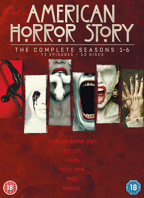 American Horror Story: The Complete Seasons 1-6 DVD (2017) Evan Peters
