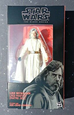 2017 Star Wars Black Series 6 inch The Last Jedi #46 Luke Skywalker Jedi Master